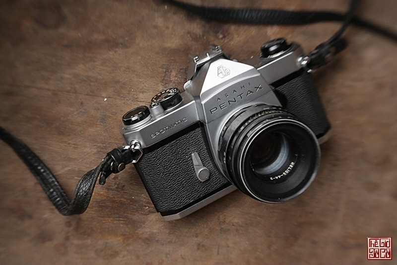 Bán máy ảnh Asahi Pentax Sportmatic và lens Helios 44-2