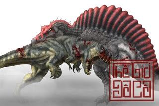 Khủng long Spinosaurus - Loài ăn thịt to nhất trên cạn, lưng có cánh buồm