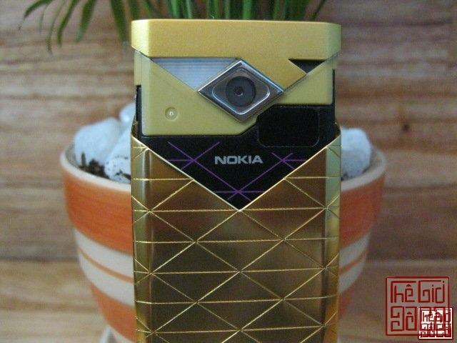 Lên Sàn 1 em Nokia 7900 Gold