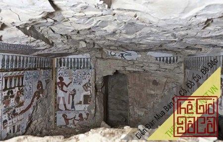Hầm mộ cổ Ai Cập 3.000 năm tuổi gây sốt
