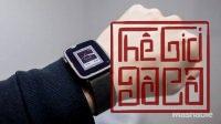 đồng hồ thông minh pebble time steel. HOT HOT