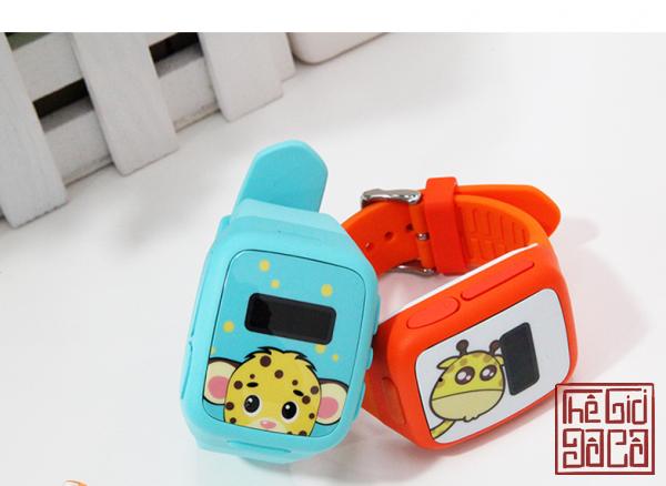 Đồng hồ định vị trẻ em GW01, giám sát hành trình, nghe gọi 2 chiều SOS