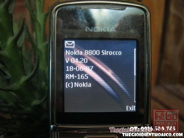 Nokia 8800 Sirocco MS 1506