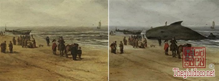 Bức View of Scheveningen Sands của Hendrick van Anthonissen.jpg