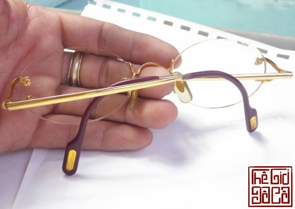 Cartier rimless Vendome 18k Gold Plated  (1).jpg