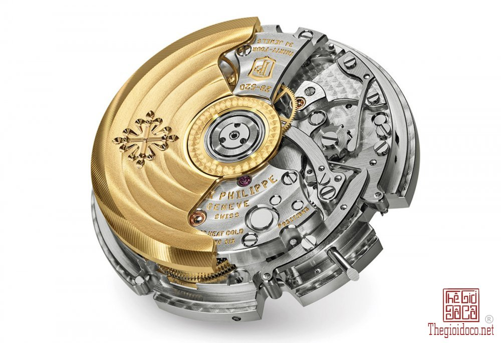 Integrated chronograph movement bởi Patek Philippe, Calibre CH28-520.jpg
