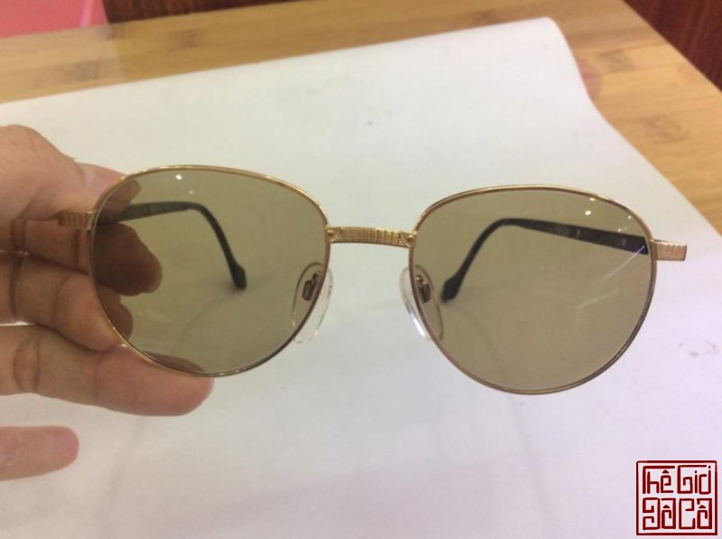 Kính St Dupont 23k Gold Filled Sunglasses Made in France (6).jpg